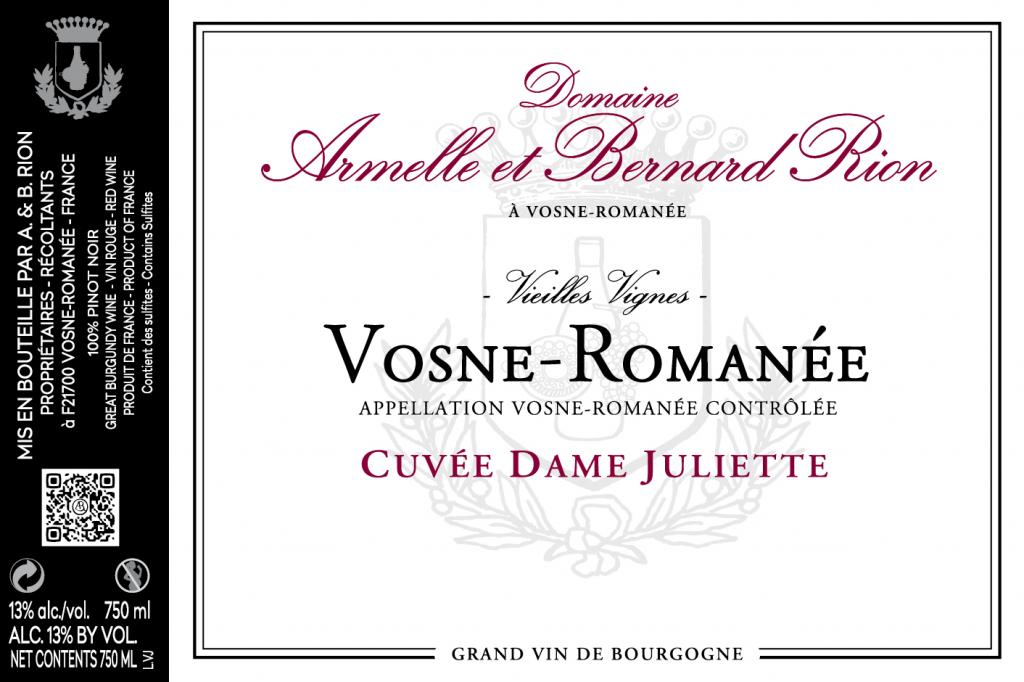 Nos vins – Domaine Armelle et Bernard RION
